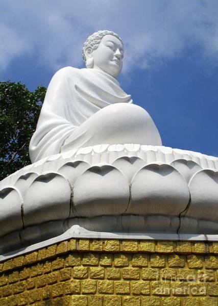 Giant Buddha Photograph - Vung Tau Buddha 1 by Randall Weidner