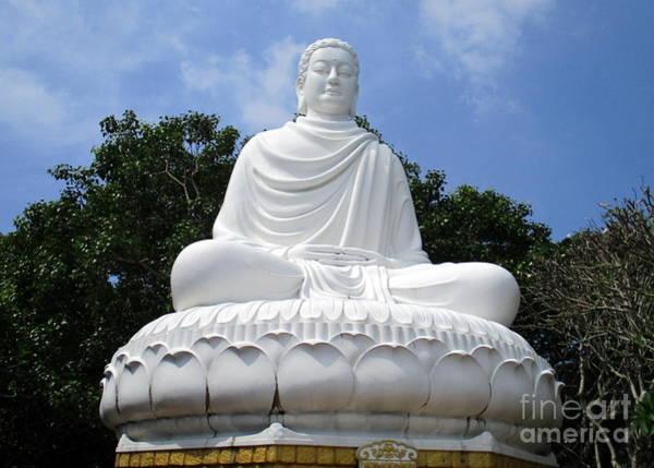 Giant Buddha Photograph - Vung Tau Buddha 2 by Randall Weidner