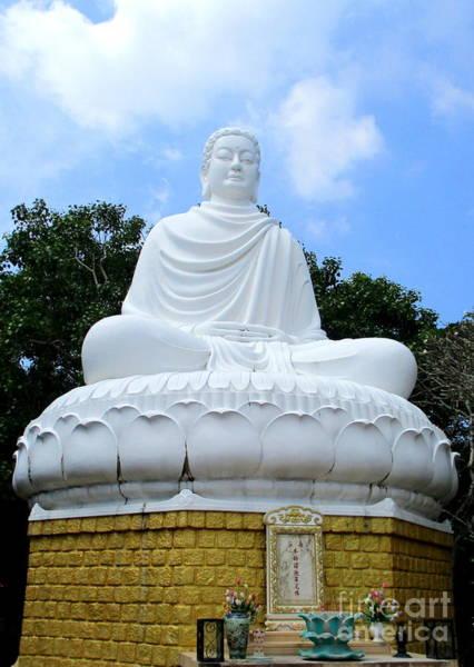 Giant Buddha Photograph - Vung Tau Buddha 3 by Randall Weidner