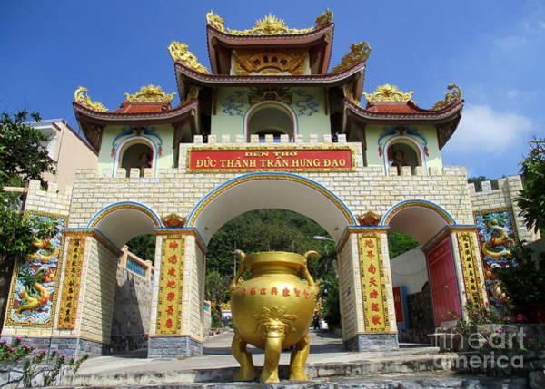Vung Tau Photograph - Vung Tau Pagoda 1 by Randall Weidner