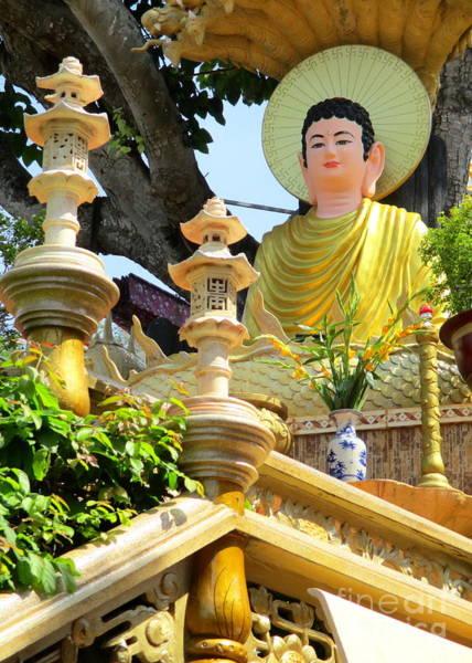 Vung Tau Photograph - Vung Tau Pagoda 10 by Randall Weidner