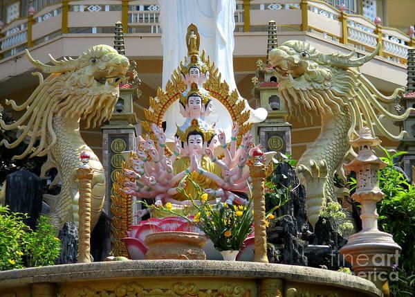 Vung Tau Photograph - Vung Tau Pagoda 11 by Randall Weidner