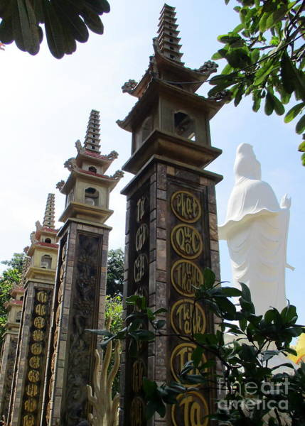 Vung Tau Photograph - Vung Tau Pagoda 12 by Randall Weidner