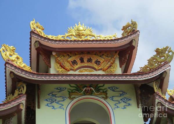 Vung Tau Photograph - Vung Tau Pagoda 4 by Randall Weidner