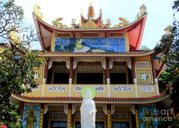 Vung Tau Photograph - Vung Tau Pagoda 5 by Randall Weidner