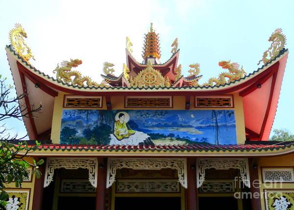 Vung Tau Photograph - Vung Tau Pagoda 6 by Randall Weidner