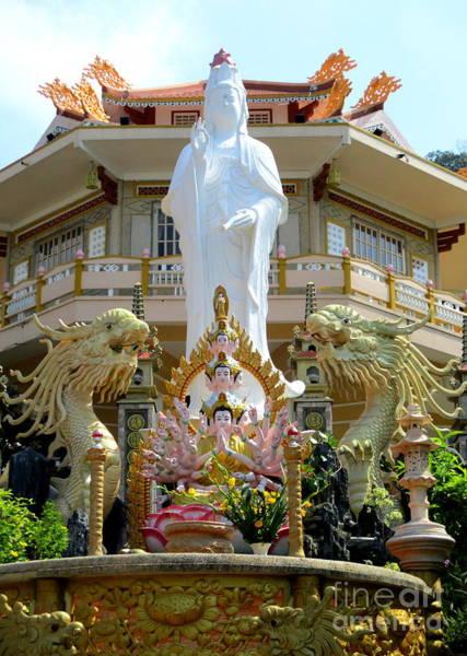Vung Tau Photograph - Vung Tau Pagoda 7 by Randall Weidner