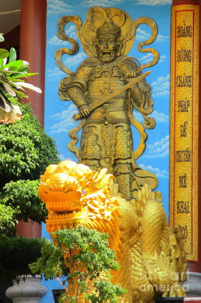 Vung Tau Photograph - Vung Tau Pagoda 9 by Randall Weidner