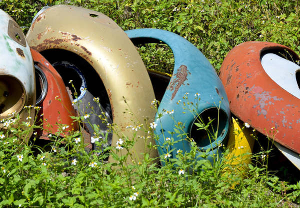 Photograph - Vw Bumpers by Carolyn Marshall
