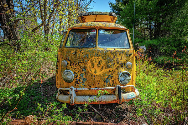Photograph - Vw Bus by Rick Berk