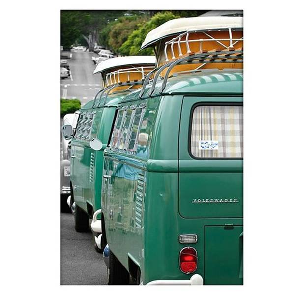 Wall Art - Photograph - Vw Buses #carphotographer #vw #vwbus by Jill Reger