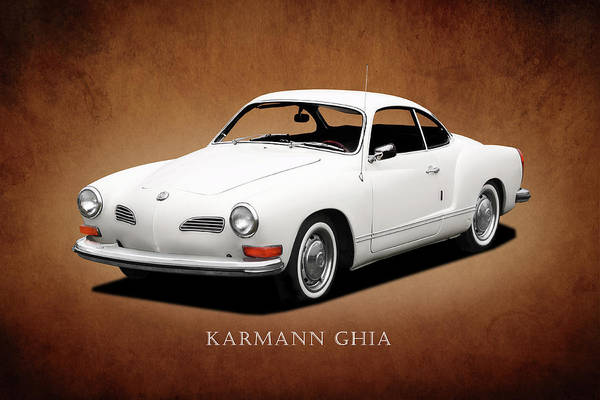 Volkswagen Wall Art - Photograph - Vw Karmann Ghia by Mark Rogan