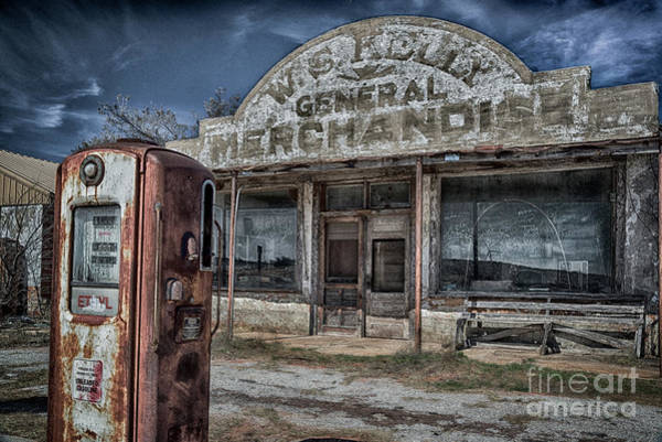 Photograph - W S Kelly General Merchandise by Paul Quinn