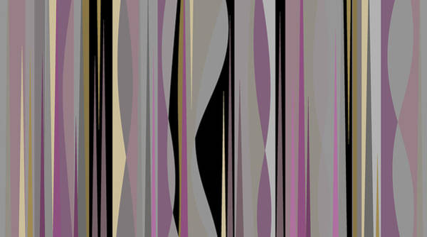 Digital Art - W7 Untitled With Black by Val Arie