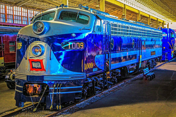 Photograph - Wabash 1009 by Dale R Carlson