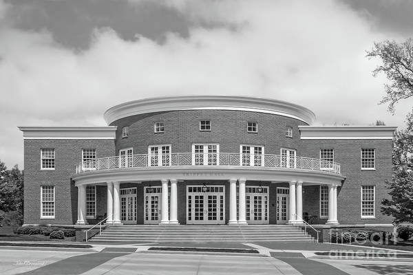 Photograph - Wabash College Trippet Hall by University Icons