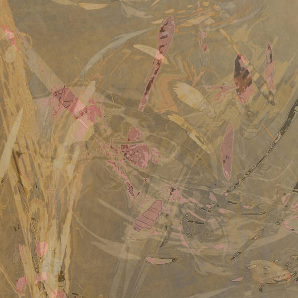 Mixed Media - Wabi-sabi Ikebana Symphony In Taupe by Kristin Doner