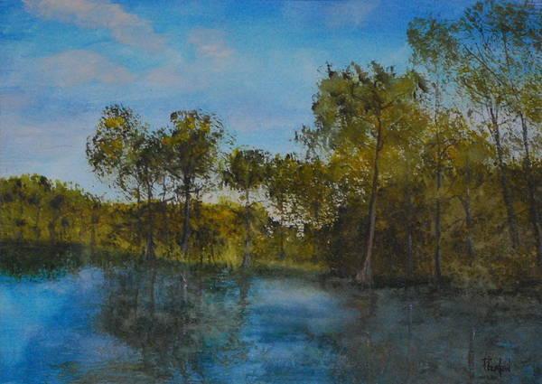 Painting - Waccamaw Breeze I by Phil Burton