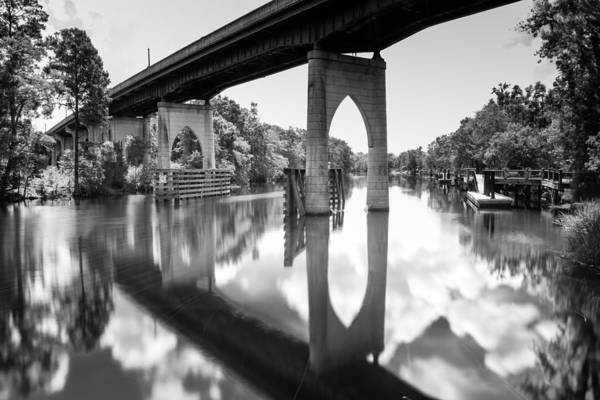 Waccamaw River Memorial Bridge Art Print