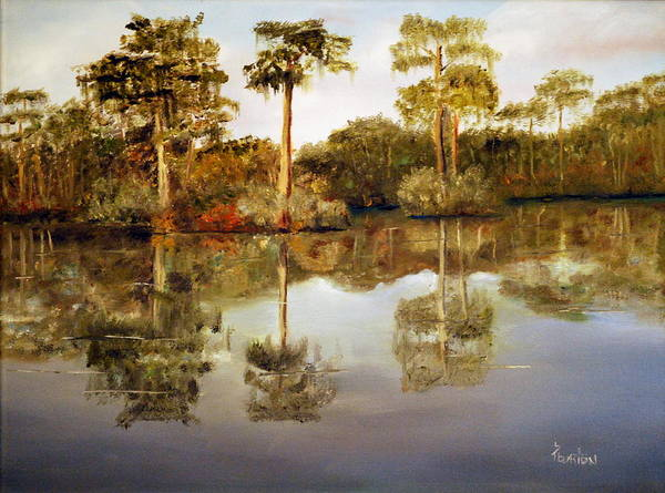 Painting - Waccamaw River by Phil Burton