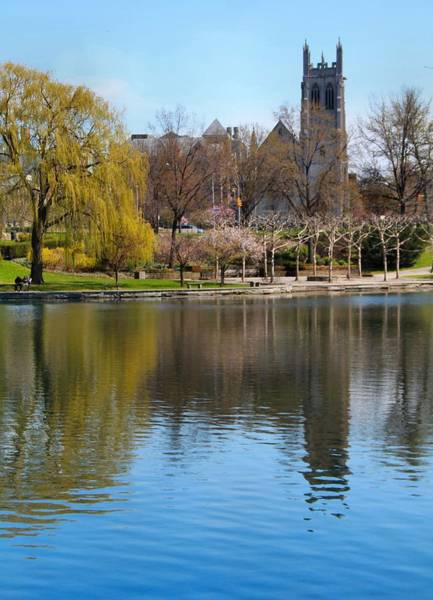 Photograph - Wade Park District In Spring by Dan Sproul