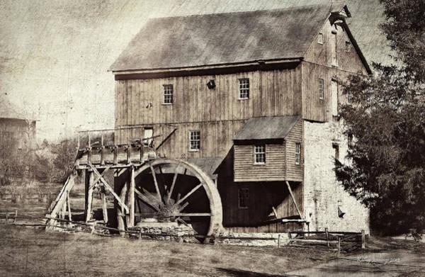 Rockbridge County Photograph - Wade's Mill Series II by Kathy Jennings