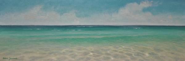 Painting - Wading  By Alan Zawacki by Alan Zawacki