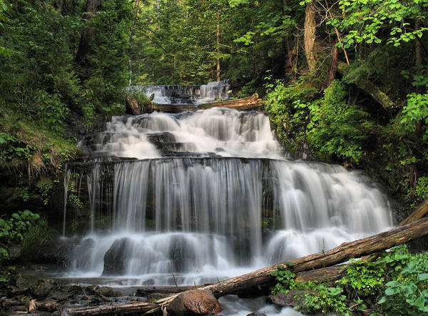 Wall Art - Photograph - Wagner Falls by Matthew Winn
