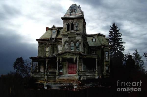 Victorian House Digital Art - Wagner Mansion by Tom Straub