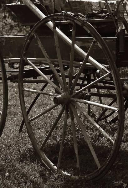 Photograph - Wagon And Wheel by Amanda Smith