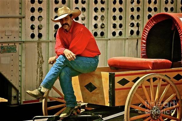 Prca Wall Art - Photograph - Wagon Boss by Gus McCrea