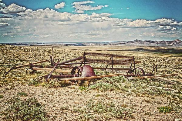 Photograph - Wagon On Green Mountain by Amanda Smith