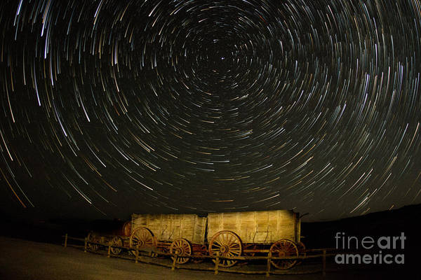 Photograph - Wagon Wheel In The Sky by Mark Jackson