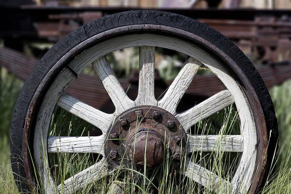 Wall Art - Photograph - Wagon Wheel by Kelley King