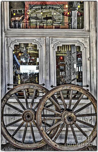 Wagon Wheel Photograph - Wagon Wheels  by Mitch Shindelbower