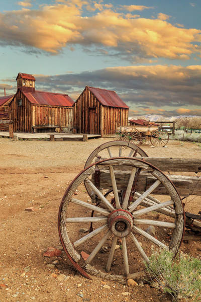 Photograph - Wagons And Wheels by James Eddy