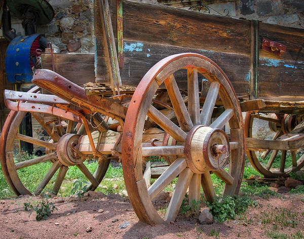 Photograph - Wagons Ho by Barry Weiss