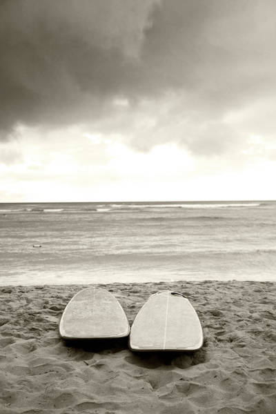 Wall Art - Photograph - Waikiki Surfboards by Sean Davey