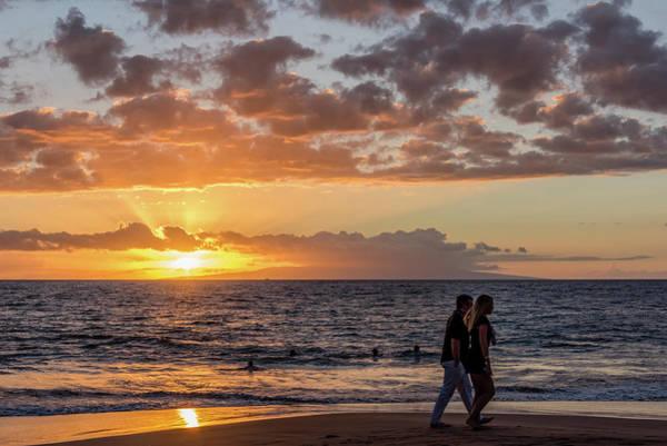Wall Art - Photograph - Wailea Beach Sunset by Morris Finkelstein