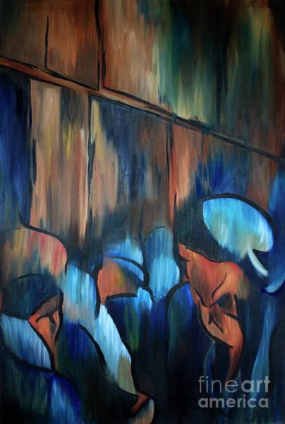 Wall Art - Painting - Wailing Wall by Jen Callison