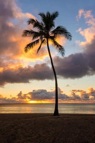 Wall Art - Photograph - Waimea Beach Sunset 2 - Oahu Hawaii by Brian Harig
