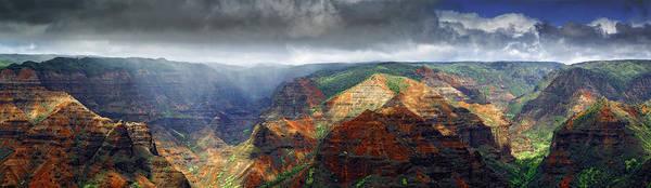 Photograph - Waimea Canyon by Ed Boudreau