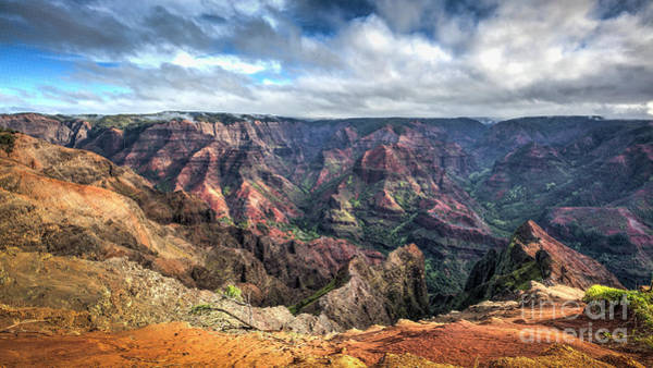 Waimea Canyon Photograph - Waimea Canyon Kauai Hawaii by Dustin K Ryan