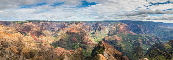 Photograph - Waimea Canyon Kauai by Pierre Leclerc Photography