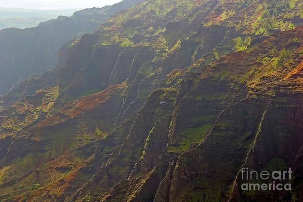 Wall Art - Photograph - Waimea Canyon On A Misty Day In Kauai by Louise Heusinkveld