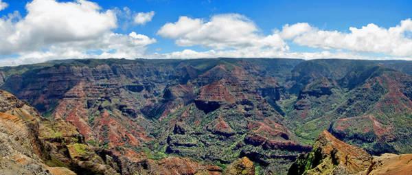 Photograph - Waimea Canyon Panorama - Hawaii by Bob Slitzan