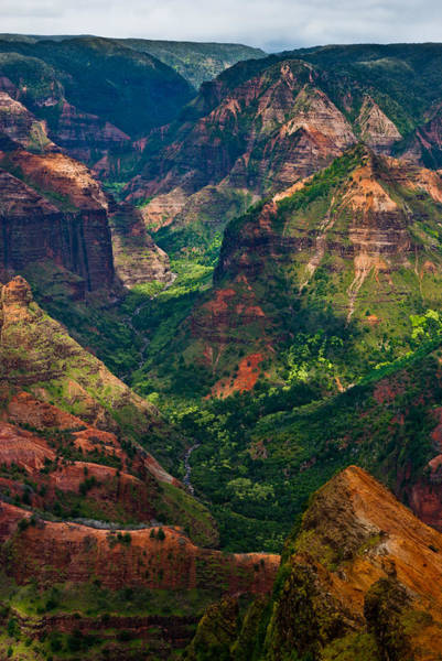 Waimea Canyon Photograph - Waimea Canyon by Thorsten Scheuermann