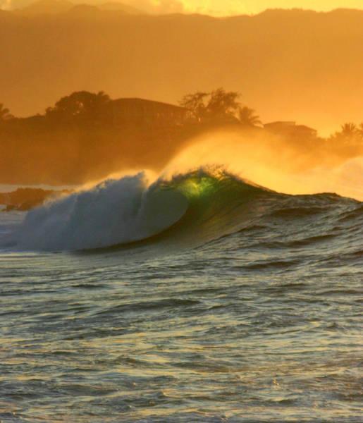 Photograph - Waimea Glow by Brad Scott