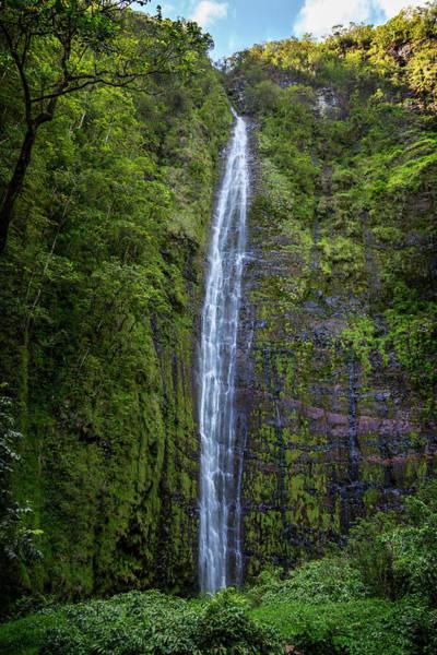 Wall Art - Photograph - Waimoku Falls by Kelley King