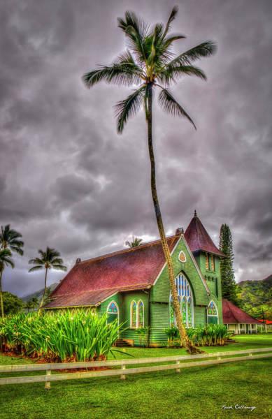 Photograph - Wai'oli Hui'ia Church Hanalei Kauai Collection Art by Reid Callaway